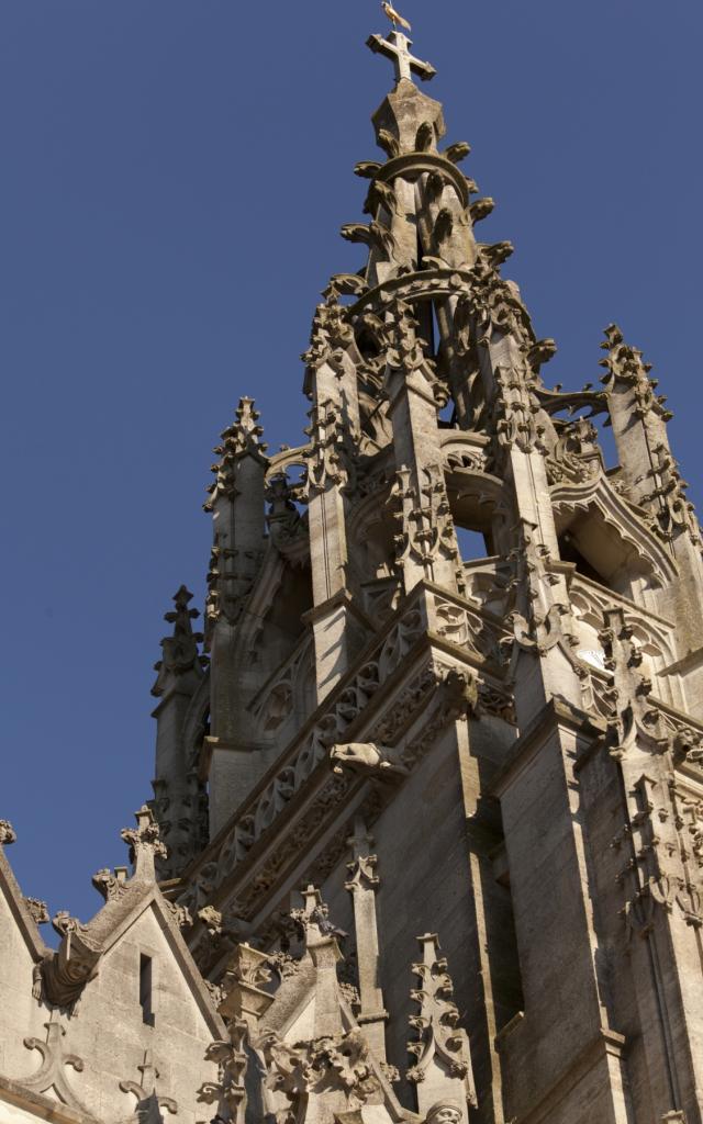 Basilique L Epine Unesco Tour Detail © Jean Côme Nicolle