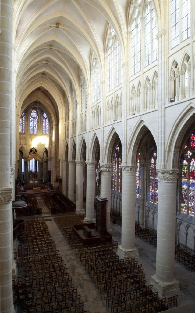 Cathedrale St Etienne Chalons En Haut Orgue © Jean Côme Nicolle