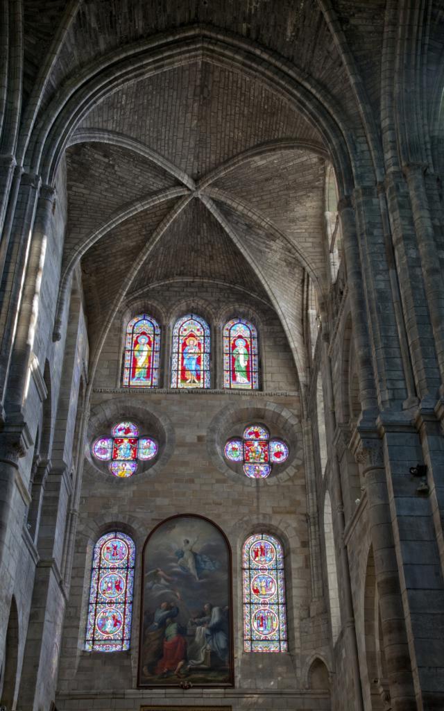 Collegiale Notre Dame En Vaux Chalons Vitraux © Jean Côme Nicolle