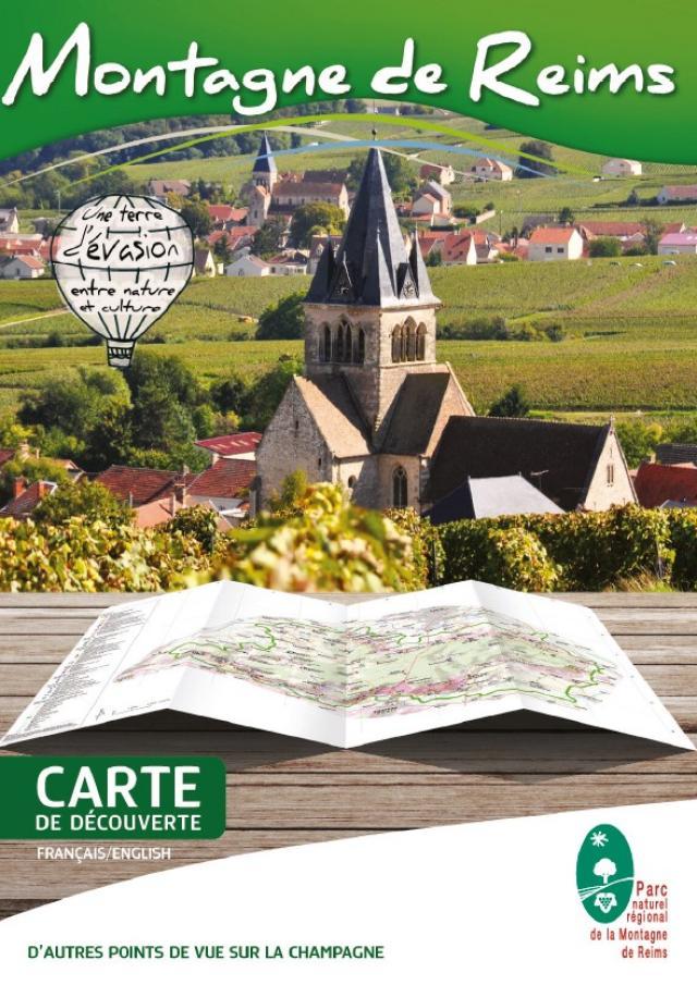 Montagne De Reims Carte De Decouverte